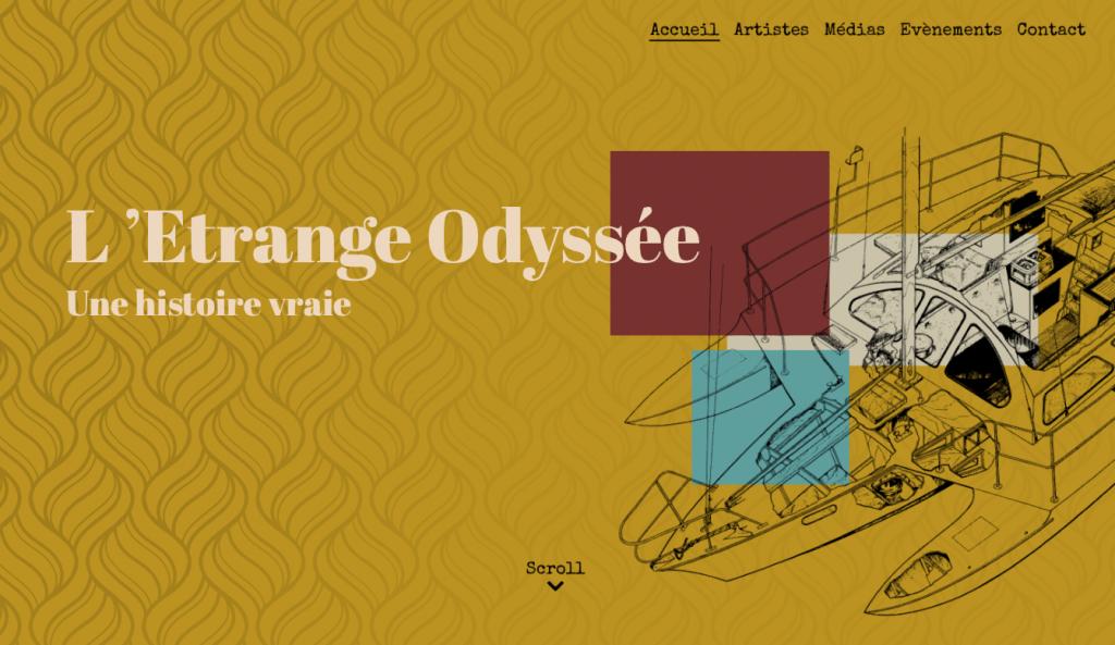 IO-Studio L'Etrange Odyssée WebDesign