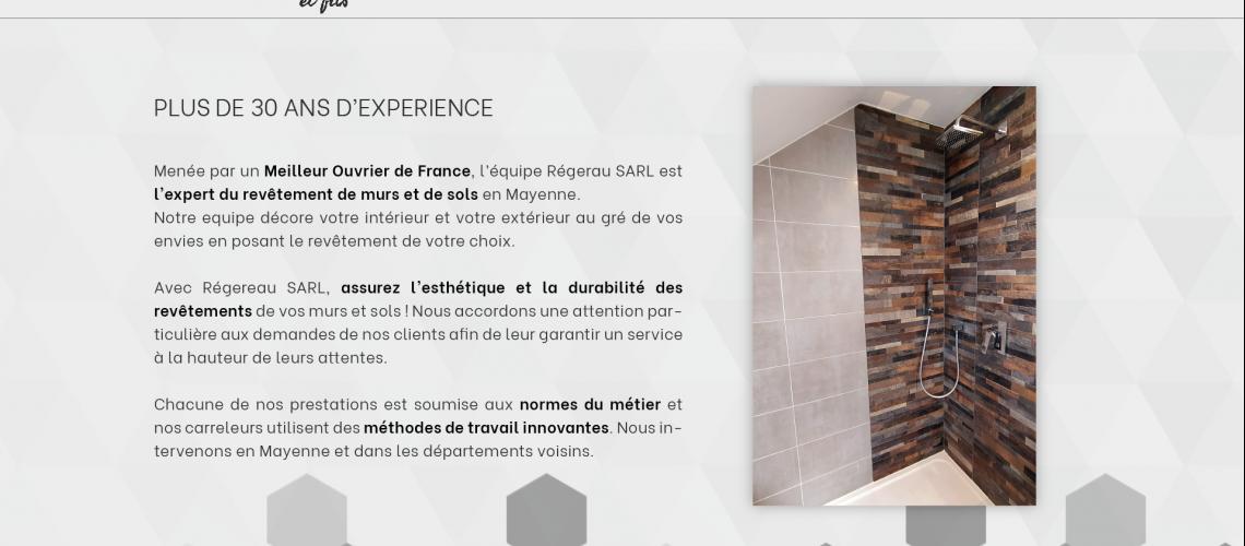 Proposition site web - SARL Regereau-03